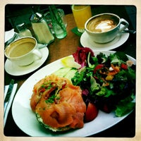 Photo taken at Café Puck by Norman on 3/25/2012