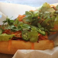 Photo taken at Banh Mi & Co by Victoria on 8/28/2012