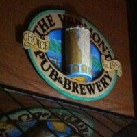 Photo taken at Vermont Pub & Brewery by Erin C. on 3/19/2012