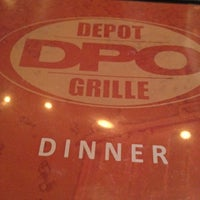 Photo taken at Depot Grille by Tony R. on 4/30/2012