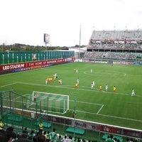 Photo taken at Leo Stadium by Supawat S. on 7/29/2012