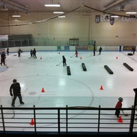 Photo taken at Edge Ice Arena by Ann K. on 8/8/2012