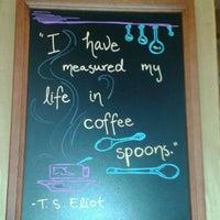 Photo taken at Flatiron Coffee by Susan H. on 4/2/2012