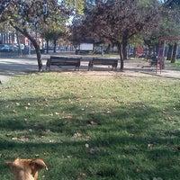 Photo taken at Parque Portales by Juan Pablo B. on 6/6/2012