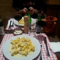 Photo taken at Trattoria Della Mamma by Vincent V. on 7/11/2012
