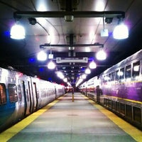 Photo taken at MBTA South Station by Taylor on 7/17/2012