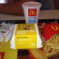 Photo taken at McDonald's by Diego Ismael A. on 8/17/2012