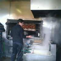 Photo taken at Pollos Asados 5 de Abril by Maria M. on 8/19/2012