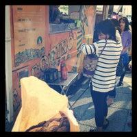 Photo taken at Tacofino Cantina by Nicholas H. on 8/24/2012