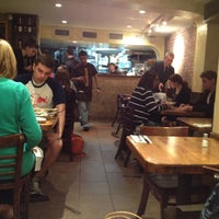 Photo taken at Hummus Place by Hadas L. on 4/18/2012