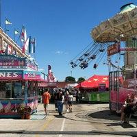 Photo taken at York Fairgrounds & Expo Center by Sara S. on 9/10/2012
