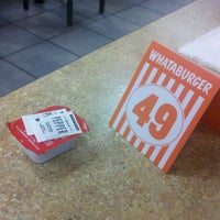 Photo taken at Whataburger by Rustin J. on 8/26/2012