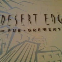 Photo taken at Desert Edge Brewery at The Pub by Andie S. on 8/18/2012
