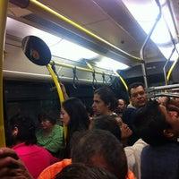 Photo taken at Metrobús El Salvador L4 by Alberto R. on 6/2/2012