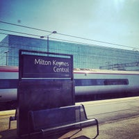 Photo taken at Milton Keynes Central Railway Station (MKC) by Elsie L. on 5/13/2012