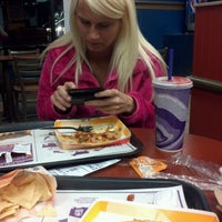 Photo taken at Taco Bell by Bri S. on 3/6/2012