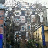 Photo taken at KUNST HAUS WIEN. Museum Hundertwasser by KAZ I. on 2/20/2012
