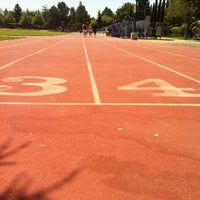 Photo taken at Campbell Community Center Track by Patrick D. on 5/31/2012