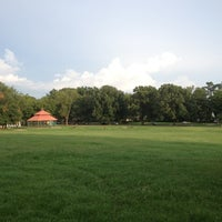 Photo taken at Marquette Park by Mary Louise . on 7/19/2012