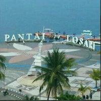 Photo taken at Pantai Losari by Basham on 8/15/2012