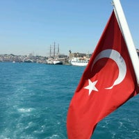 Photo taken at Sea of Marmara by Faroos A. on 6/14/2012