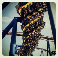 Photo taken at Superman: Ultimate Flight by Justin H. on 5/27/2012