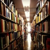Photo taken at Mugar Library by Eric 🚀 M. on 5/7/2012