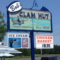 Photo taken at Bob's Clam Hut by Kelly M. on 6/29/2012
