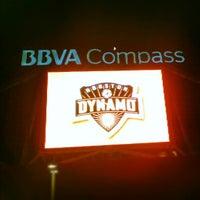Photo taken at BBVA Compass Stadium by Ernest on 7/26/2012