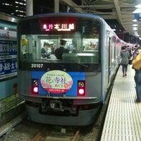 Photo taken at Seibu-Shinjuku Station (SS01) by TOMOTETSU on 4/20/2012