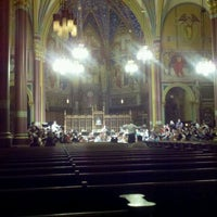 Photo taken at Cathedral of the Madeleine by Fadi A. on 3/16/2012