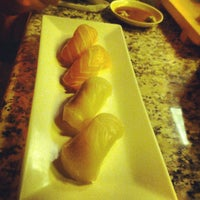 Photo taken at Blue Fin Sushi by Kris A. on 8/18/2012
