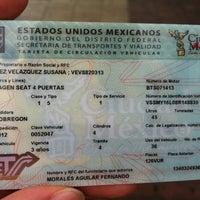 Photo taken at Modulo De Licencias Y Control Vehicular by Susana on 8/10/2012