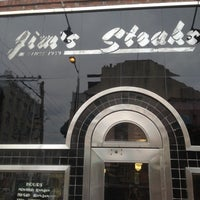 Photo taken at Jim's Steaks by Brooks D. on 6/1/2012