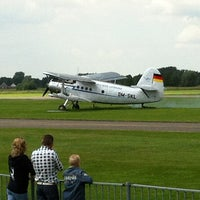 Photo taken at Teuge International Airport (EHTE) by Sven V. on 6/10/2012