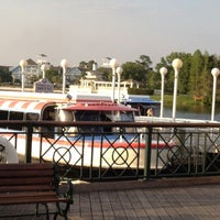 Photo taken at Friendship Boat Dock - Yacht & Beach Club Resorts by S Blair on 4/11/2012