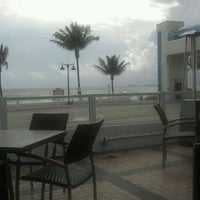 Photo taken at Shula's on the Beach by Stephen F. on 2/6/2012
