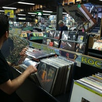 Photo taken at Rasputin Music by Vegan Beauty Review on 6/18/2012