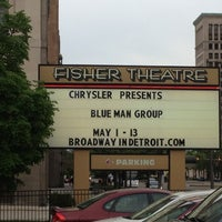Photo taken at Fisher Theater by Dan A. on 5/6/2012