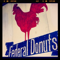 Photo taken at Federal Donuts by Rick C. on 7/29/2012