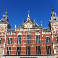 Photo taken at Amsterdam Centraal Railway Station by Sirleny G. on 4/22/2012