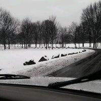 Photo taken at Otsiningo Park by Angel S. on 2/29/2012