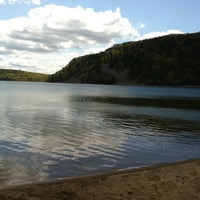 Photo taken at Devil's Lake State Park by Stephanie S. on 4/23/2012