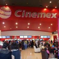 Photo taken at Cinemex by Rodolfo H. on 7/22/2012