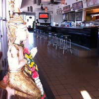 Photo taken at Thai Hut by Melissa C. on 6/5/2012