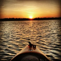 Photo taken at White Rock Lake by Jason D. on 8/1/2012