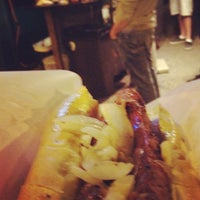 Photo taken at The Comet Hot Dog Stand by ɐzǝɹ . on 7/5/2012