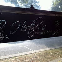 Photo taken at Heather's Coffee & Cafe by Sarah on 9/6/2012