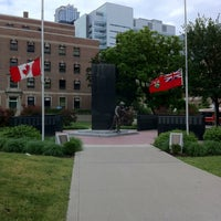 Photo taken at Ontario Fire Fighters Memorial by Connie C. on 6/2/2012