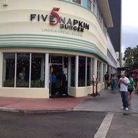 Photo taken at 5 Napkin Grill by Ricardo O. on 3/15/2012